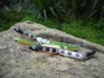 Artificiale Ap Lures Anguilletta snodata Anguilla per Spigole