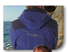 Giacca Softshell Antivento Omer